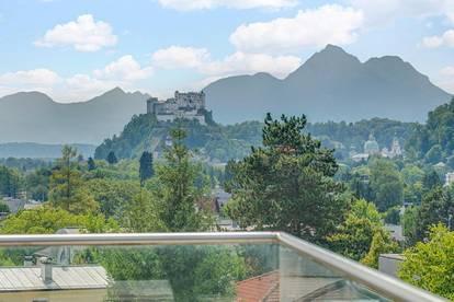 Charismatischer Luxus am Fuße des Gaisbergs mit Bilderbuchausblick