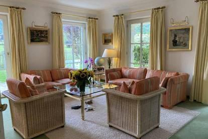 Elegante, zeitlose Villa mit viel Flair und zauberhaftem Garten in Grossgmain * Landidylle pur * die Seele baumeln lassen *