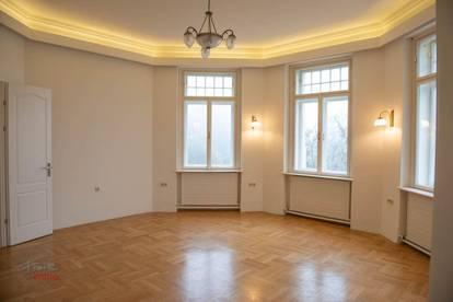 Zweigeschossige Wohnung in Stadtvilla am Kurpark!