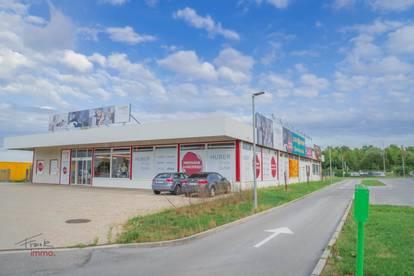 Fachmarktzentrum im Süden von Eisenstadt