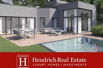 High-End Bungalow mit Pool und Dachterrasse in Grinzinger Bestlage