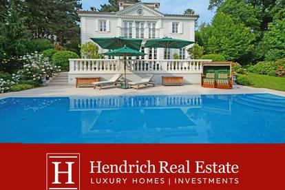 Elegante Villa mit großzügigem Gästehaus in erhabener Lage Grinzings