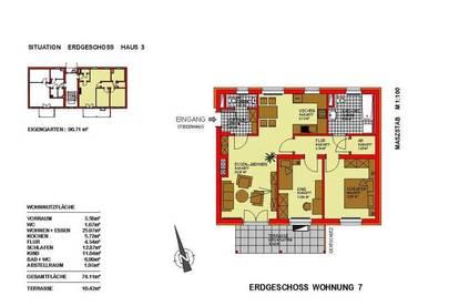 3 Zimmer Mietwohnung mit Kaufoption