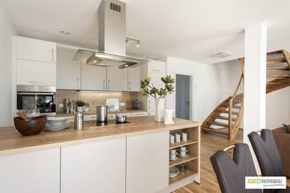 Moderne GED Doppelhaushälfte für Ihre Familie –schlüsselfertig & provisionsfrei - Top E2