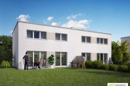Provisionsfreie Doppelhaushälfte mit Garten in Theresienfeld Top A1