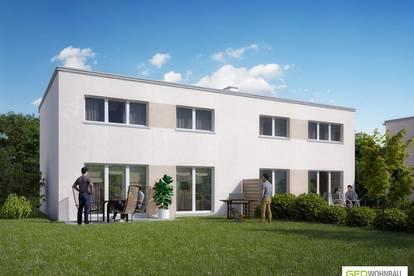 NEU!! Provisionsfreie, schlüsselfertige Doppelhaushälfte in Passivbauweise Top B1 – ökologisch & energiesparend!