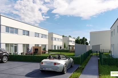 SCHLÜSSELFERTIGE Doppelhaushälfte in Passivbauweise Top E2 - provisionsfrei