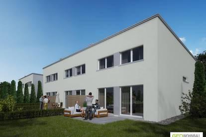 Moderne Doppelhaushälfte mit Garten - schlüsselfertig & provisionsfrei - Top L2