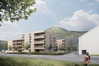 Erstbezug in Aigen! 4-Zimmer EG-Wohnung mit Allgemeingarten!