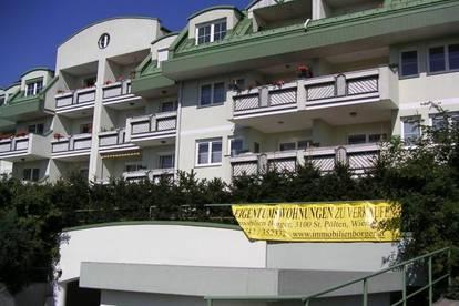 14042 Am Sonnenplateau von St. Pölten, dem Kremserberg, exklusive Wohnung mit Garten zu mieten!