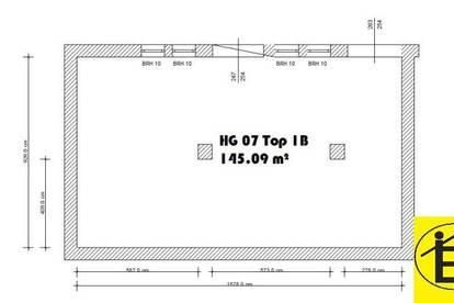 13470 - 145 m² Lagerhalle Krems Nähe
