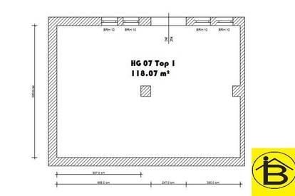 13469 - 118 m² Lagerhalle oder Stellplatz