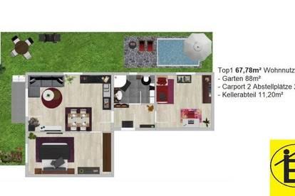 13543 - Eigentum im Neubau mit 4 Wohneinheiten