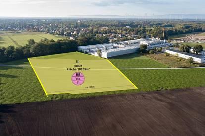** 4000 m² bis max 12000 m² - Gewerbegrundstück in perfekter Lage - Gewerbepark Nord Ebreichsdorf **
