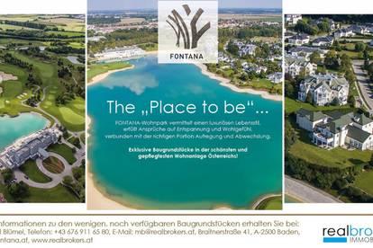 Baugrundstücke im Fontana Wohnpark - zuhause ankommen! Provisionsfrei!