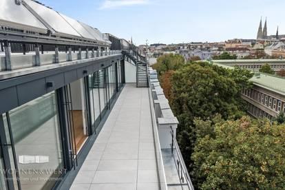 Luxuriöses Wohnen hoch über den Dächern des 9. Bezirks