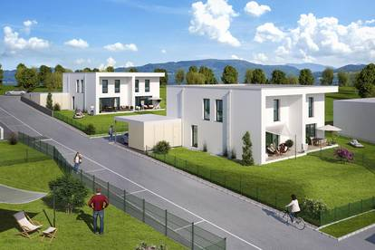 Neubau: frei finanzierte Doppelhaushälfte in Rohrbach-Berg
