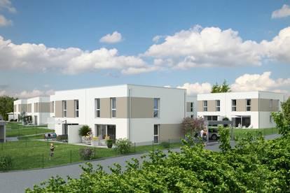 Neubau: geförderte Mietkauf-Doppelhaushälfte in Gschwandt