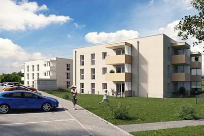 Neubau: geförderte 2-Raum-Eigentumswohnung in Kematen
