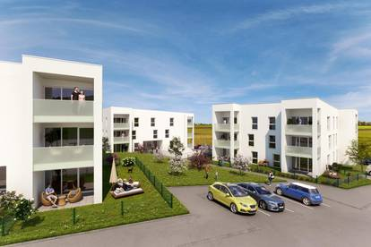 Neubau: geförderte 2-Raum Eigentumswohnung in Grieskirchen