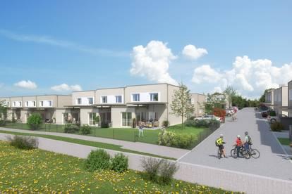 Neubau: Mietkauf-Reihenhaus in Wilhering