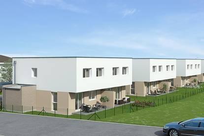 Neubau: Doppelhaushälfte im Eigentum