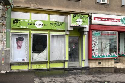 Kleine Geschäftseinheit auf der Favoritenstraße