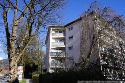 Sonnige 2 Zimmer Balkonwohnung in Salzburg Parsch