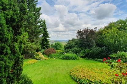 Rarität: 5.400m² Grundstück in unverbaubarer Grünruhelage mit herrlicher Aussicht - nahe Sieghartskirchen