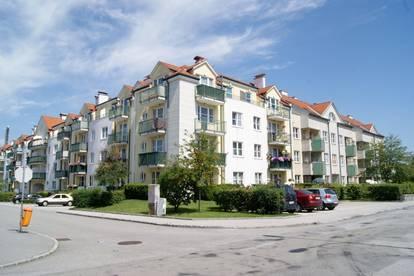 Helle 2 Zimmer Dachgeschosswohnung mit Loggia (und mit zugehörigem Stellplatz)