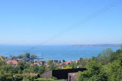 Bregenz Pfänderhang! Traumgrundstück mit unverbaubarer und uneingeschränkter Seesicht in begehrtester Lage!