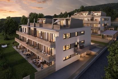 Helle, südseitige 2-Zimmer Dachgeschoßwohnung mit Blick zum Wienerwald