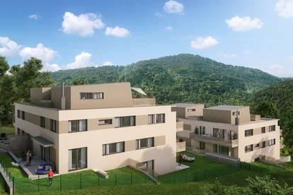 Traumhafte Dachgeschoßwohnung mit Blick auf den Wienerwald