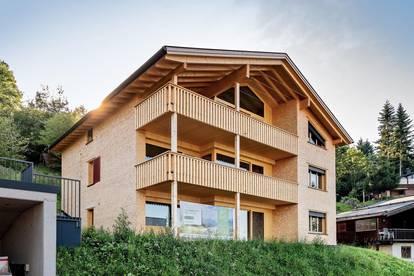 neues Ferienapartment mit Ferienwidmung im Bregenzerwald