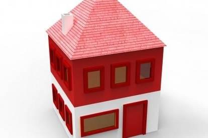 Zuschlagen: unterkellerertes Einfamilienhaus mit Garagentrakt
