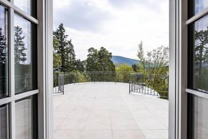 Erstbezug ~ Luxusvilla in Gießhübl ~ 4.000 m² Traumgrund