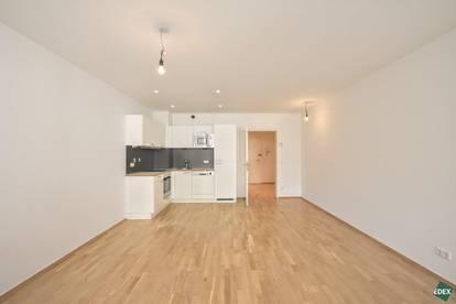 Schönes Single-Apartment mit Loggia in der City