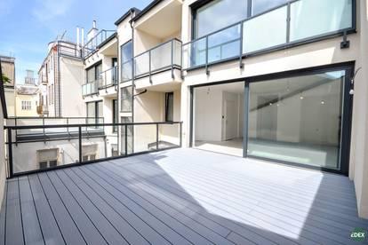 Exklusive 4-Zimmer-Wohnung mit sehr großer Terrasse