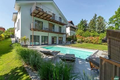 Moderne Villa mit Pool am Wilhelminenberg