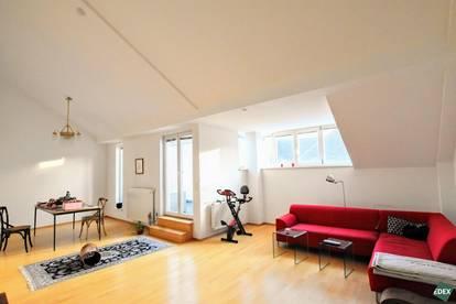 Schöne 4-Zimmer-Dachgeschoßwohnung mit 2 Terrassen