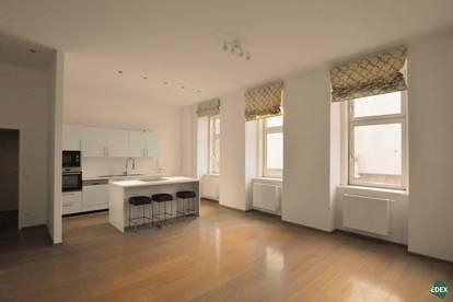 Exklusive 2-Zimmer-Altbau-Maisonettewohnung