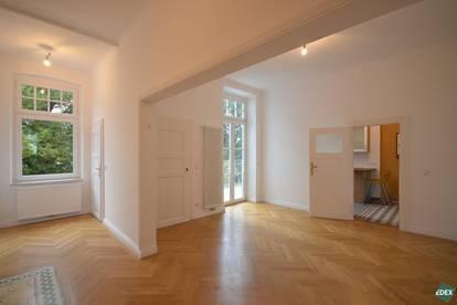 Exklusive 3-Zimmer-Altbauwohnung mit Blick auf das Stift Klosterneuburg