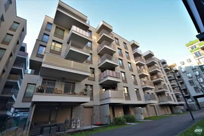Schöne 2-Zimmer-Wohnung mit Balkon beim Donaukanal