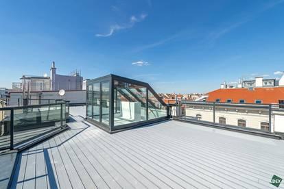 3-Zimmer-Dachgeschoß mit riesiger Dachterrasse
