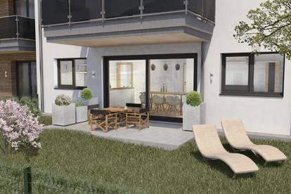 Holztraum Tamsweg Zirbenweg Haus B  Gartenwohnung B1