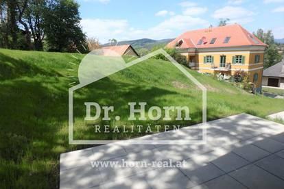 Kirchberg/Mariatrost: 2 ZI Gartenwohnung in Grünruhelage + Terrasse + PKW-Platz