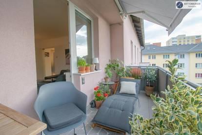 """Balkon-Wohnung """"Platz an der Sonne"""""""