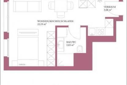 1210 Wien - Erstbezug - Coming Soon - Hochwertige Singlewohnung mit Komplettküche