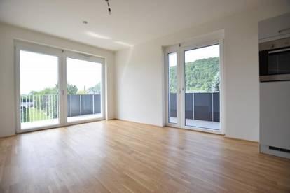 Gösting - 37m² - 2 Zimmer - großer 17m² Balkon - inklusive TG-Parkplatz - ideale Singlewohnung