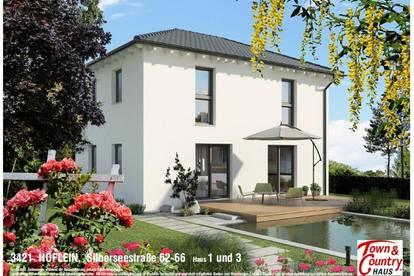 Einfamilienhäuser in Höflein, perfekte Lage an der Donau